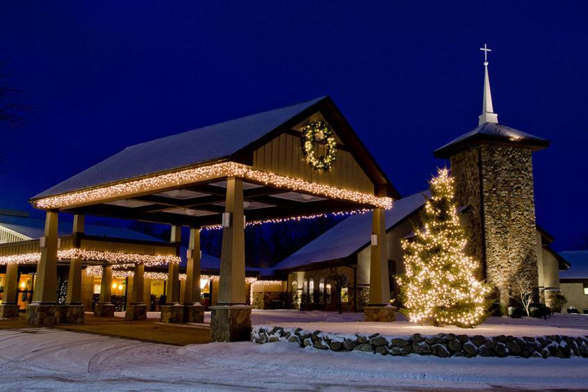 Hubbard Hill at Christmas