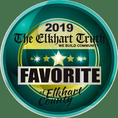 2019 Favorite of Elkhart County