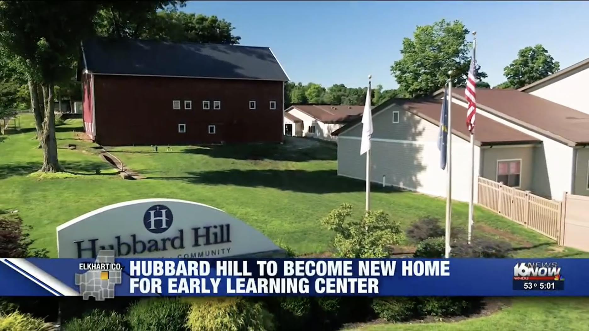"Featured image for ""WNDU: Hubbard Hill to bring seniors & students together with addition of Early Learning Center"""